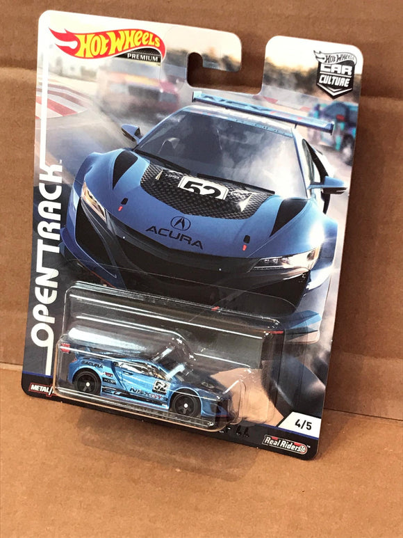 HOT WHEELS DIECAST - Open Track Acura NSX GT3