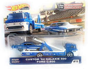 HOT WHEELS DIECAST - Team Transport Custom 64 Galaxie 500 Ford C800