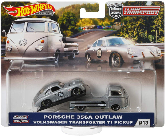 HOT WHEELS DIECAST - Team Transport Porsche 356A Outlaw VW Transporter
