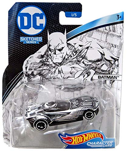 HOT WHEELS - DC Comics Sketched Series Batman