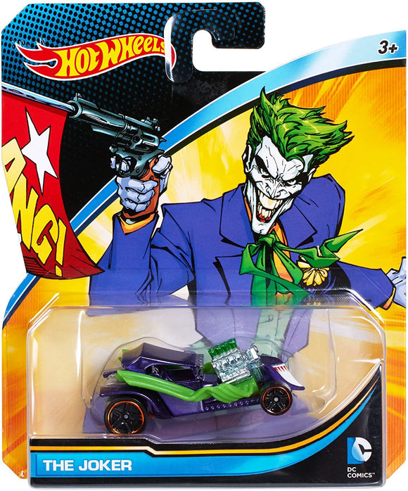 HOT WHEELS - DC Comics The Joker