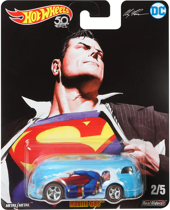 HOT WHEELS DIECAST - DC Comics Superman Haulin Gas