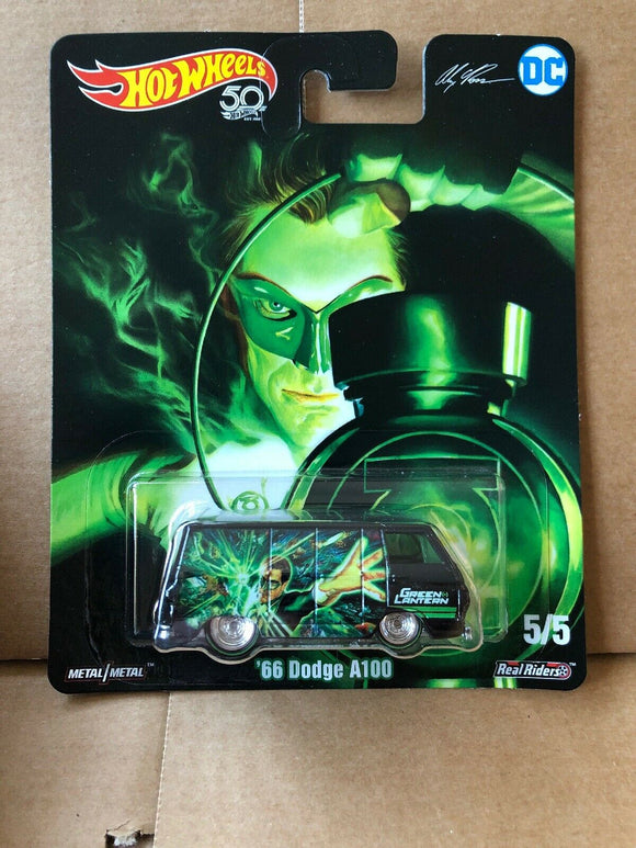 HOT WHEELS DIECAST - DC Comics Green Lantern 66 Dodge A100