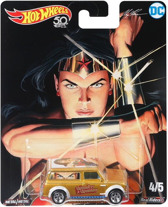 HOT WHEELS DIECAST - DC Comics 67 Wonder Woman Austin Mini Van