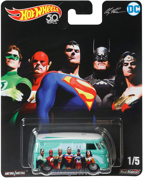 HOT WHEELS DIECAST - DC Comics Alex Ross Volkswagen T1 Panel