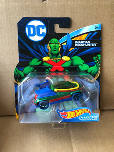 HOT WHEELS - DC Comics Martian Manhunter