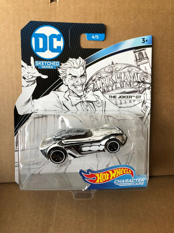 HOT WHEELS - DC Comics Sketched Series The Joker GT