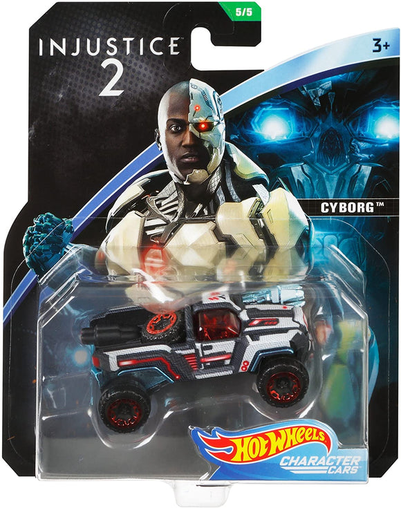 HOT WHEELS - DC Comics Injustice 2 Cyborg