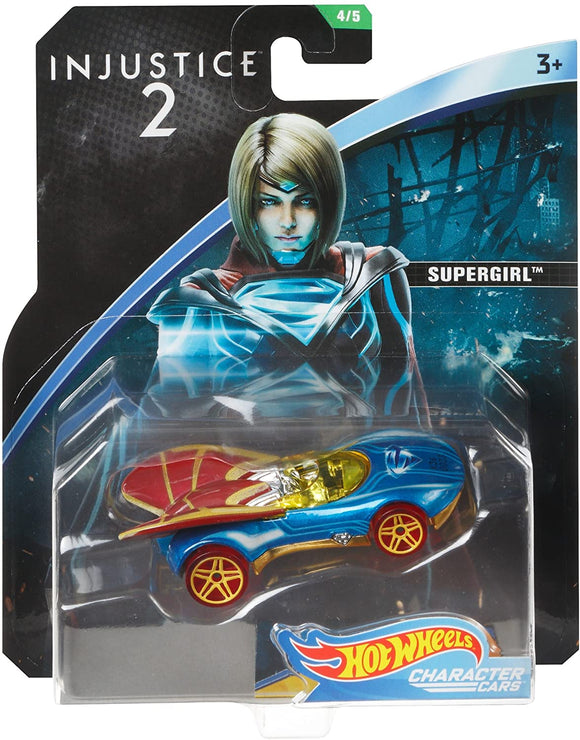 HOT WHEELS - DC Comics Injustice 2 Supergirl