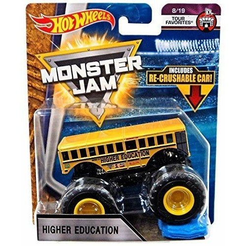 HOT WHEELS MONSTER JAM - Higher Education