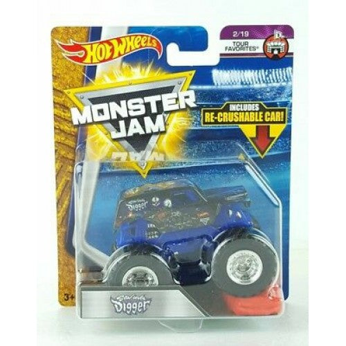 HOT WHEELS MONSTER JAM - Son-uva Digger