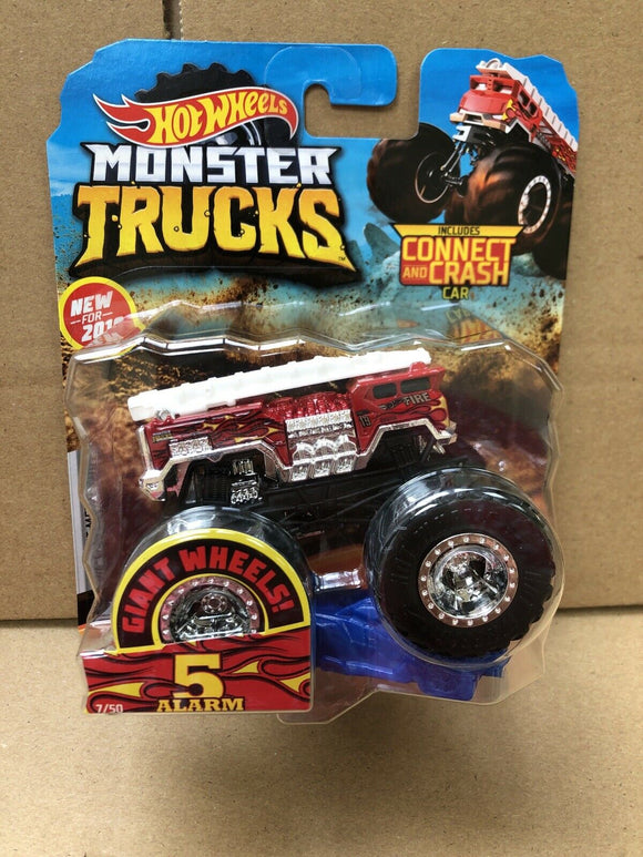 HOT WHEELS MONSTER TRUCKS - 5 Alarm