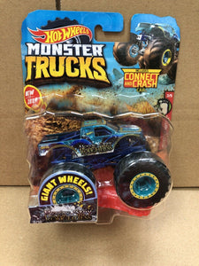 HOT WHEELS MONSTER TRUCKS - Nessie-Sary Roughness