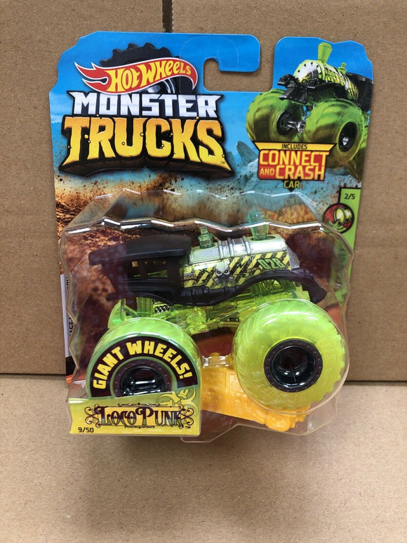 HOT WHEELS MONSTER TRUCKS - Loco Punk