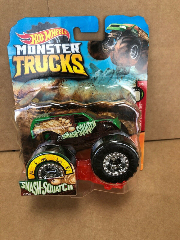 HOT WHEELS MONSTER TRUCKS - Smash-Squatch