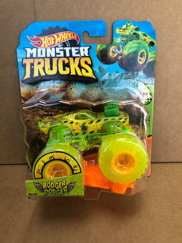 HOT WHEELS MONSTER TRUCKS - Rodger Dodger