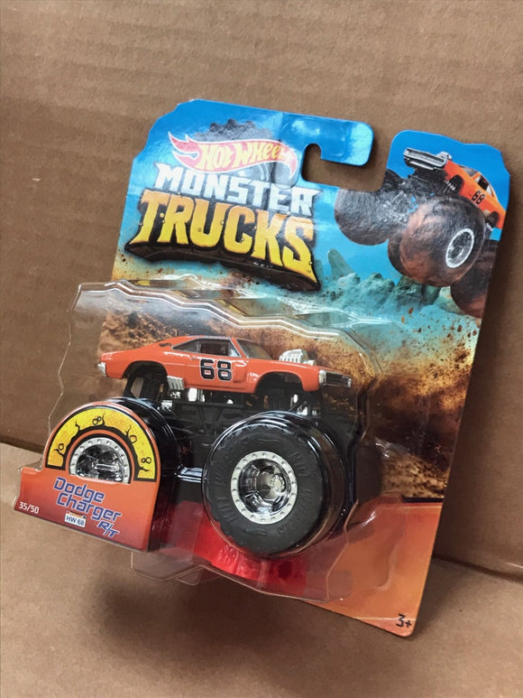 HOT WHEELS MONSTER TRUCKS - Dodge Charger RT