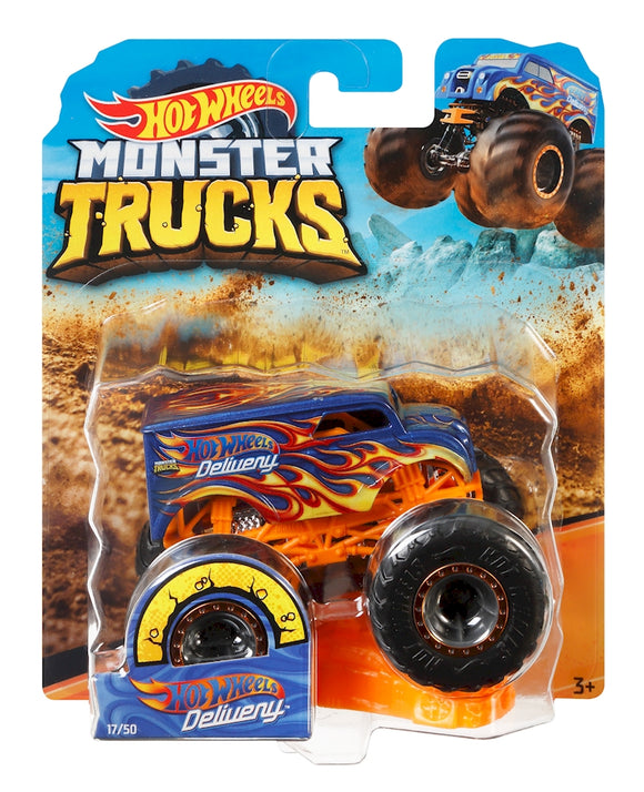 HOT WHEELS MONSTER TRUCKS - Dairy Delivery