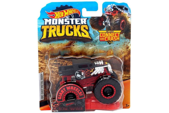 HOT WHEELS MONSTER TRUCKS - Bone Shaker