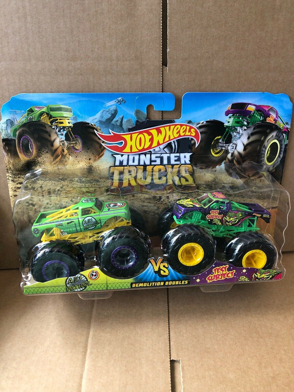 HOT WHEELS MONSTER TRUCKS - A51 Patrol v Test Subject