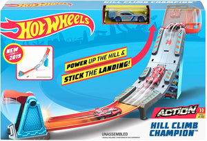 HOT WHEELS - Hill Climb Champion playset with Vehicle