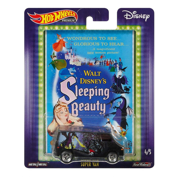 HOT WHEELS DIECAST - Pop Culture Disney Sleeping Beauty Super Van