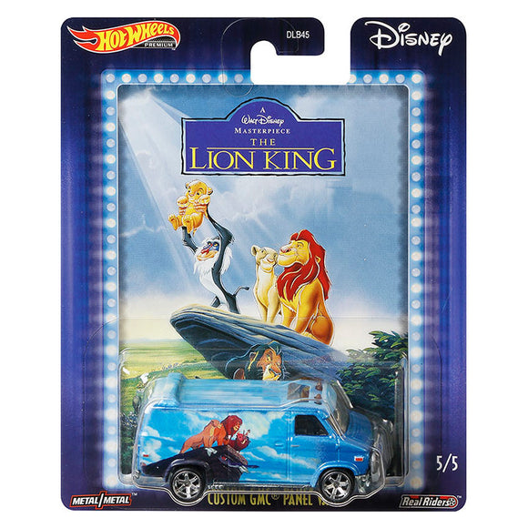 HOT WHEELS DIECAST - Disney Lion King - Custom GMC Panel Van