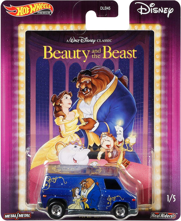 HOT WHEELS DIECAST - Disney Beauty and the Beast - Super Van