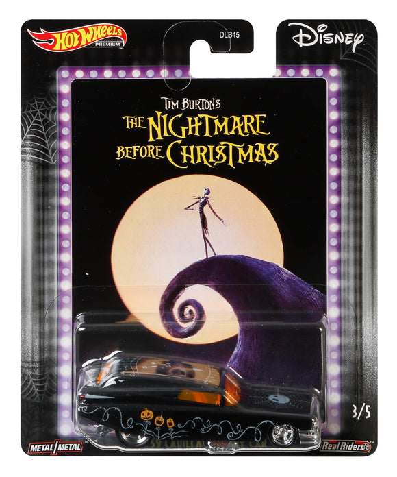HOT WHEELS DIECAST - Nightmare Before Christmas 59 Cadillac Funny Car