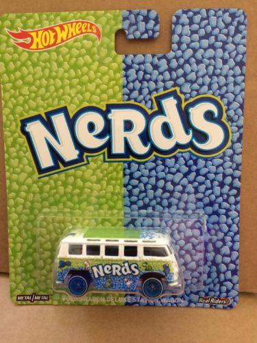 HOT WHEELS DIECAST - Nestle Nerds VW Deluxe Station Wagon