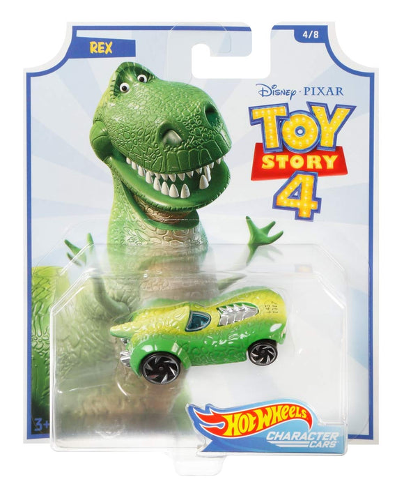 HOT WHEELS DIECAST - Toy Story 4 - Rex