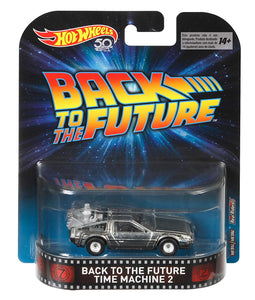 HOT WHEELS RETRO Entertainment -  Back To The Future - Time Machine 2