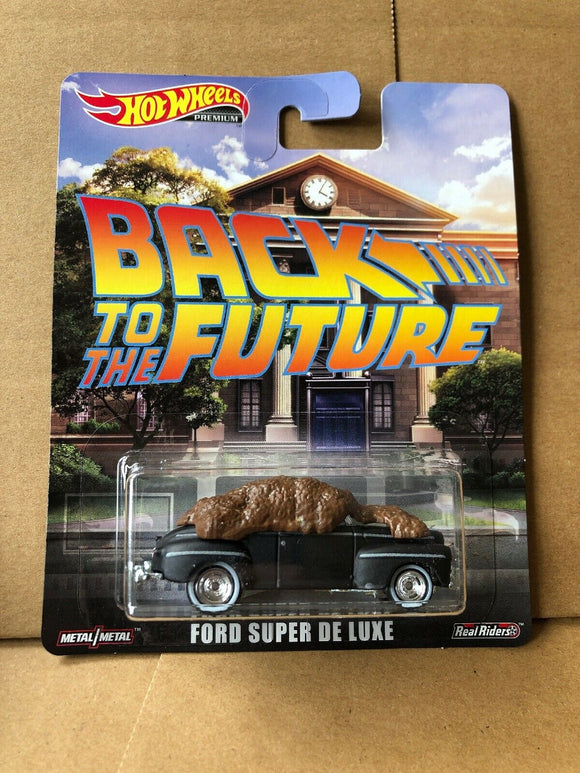 HOT WHEELS - Back to the Future - Ford Super De Luxe