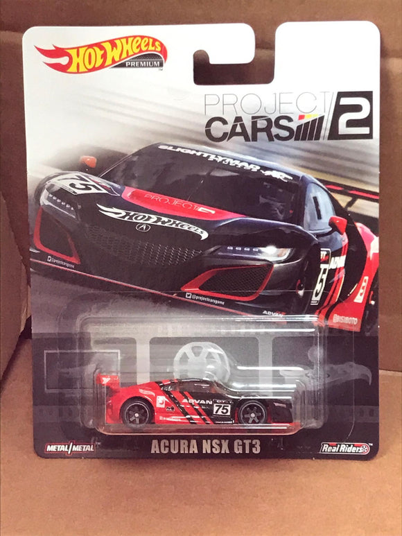 HOT WHEELS RETRO Entertainment -  Project Cars 2 - Acura NSX GT3