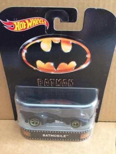 HOT WHEELS RETRO Entertainment -  BATMAN - Batmobile