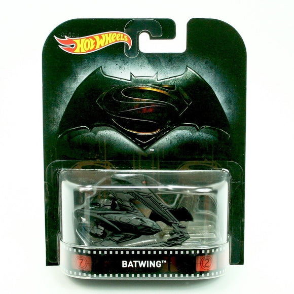 HOT WHEELS Retro Entertainment Series - Batman Batwing