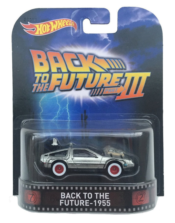 HOT WHEELS Retro Entertainment Series - Back to the Future 3 1955 - DeLorean