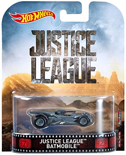 HOT WHEELS Retro Entertainment Series - Justice League Batmobile