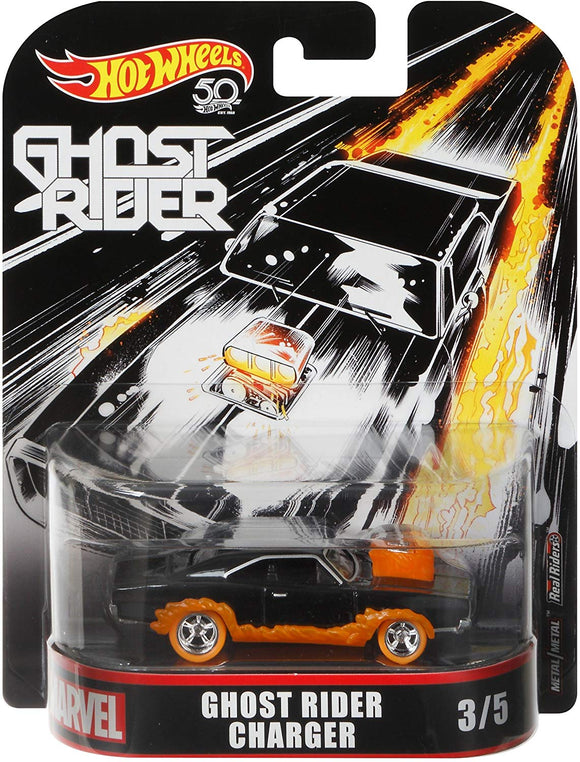 HOT WHEELS Retro Entertainment Series - Marvel Ghost Rider Charger