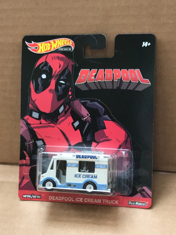 HOT WHEELS Replica Entertainment - Deadpool Ice Cream Truck