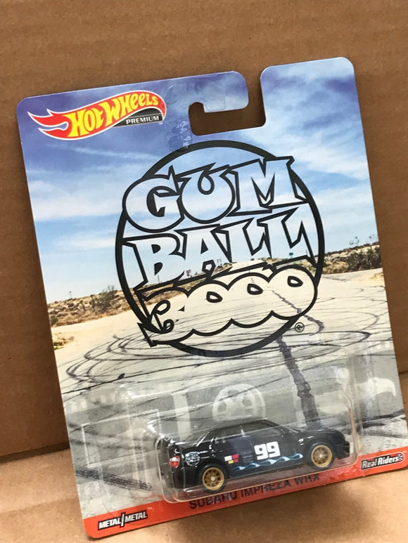 HOT WHEELS Replica Entertainment - Gumball 3000 Subaru Impreza WRX