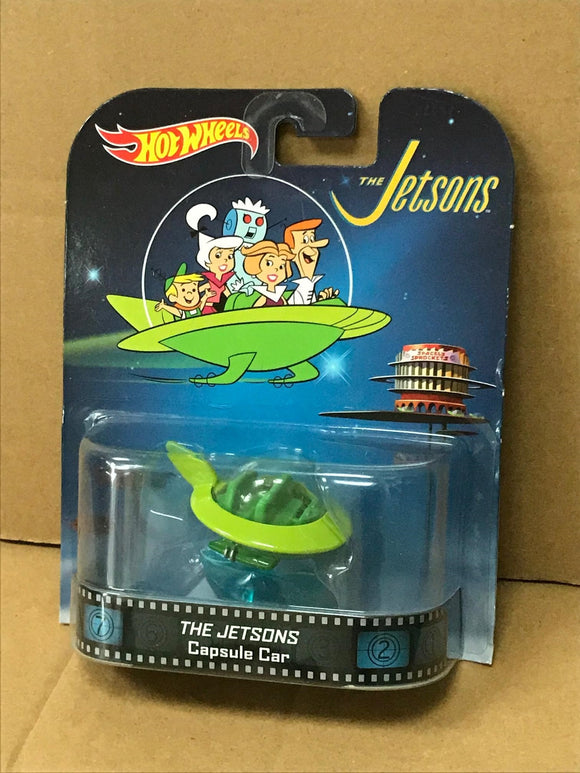 HOT WHEELS RETRO Entertainment -  The Jetsons Capsule Car