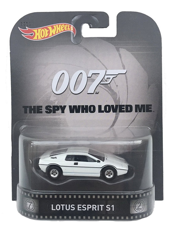 HOT WHEELS Retro Entertainment Series - James Bond Lotus Esprit S1