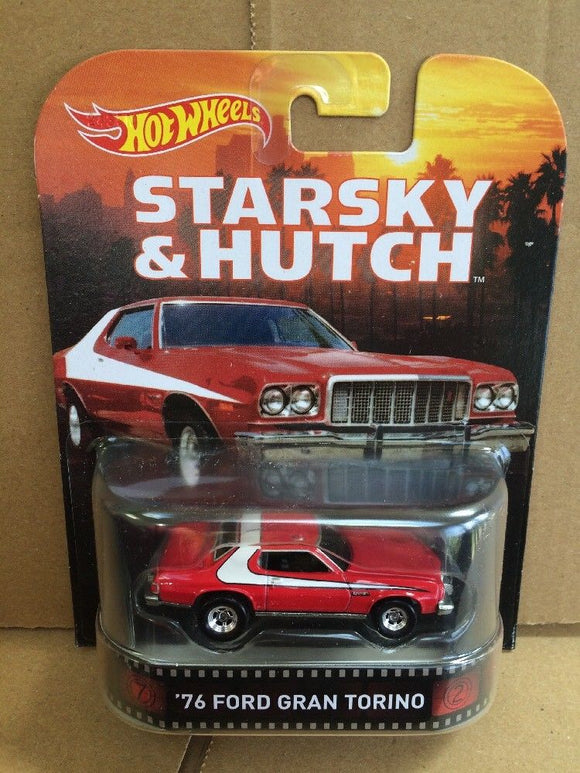 HOT WHEELS Retro Entertainment Series - Starsky and Hutch '76 Ford Gran Torino