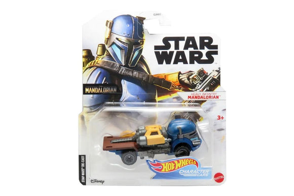 HOT WHEELS DIECAST - Star Wars Heavy Infantry Mandalorian