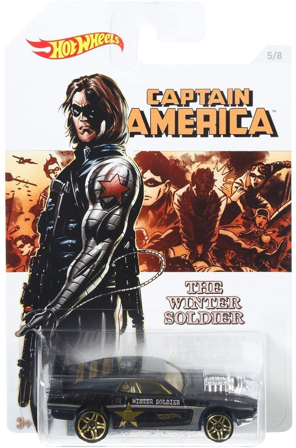 HOT WHEELS DIECAST - Captain America Winter Soldier Rivited