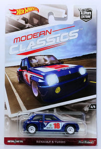 HOT WHEELS DIECAST - Car Culture Modern Classics Renault 5 Turbo