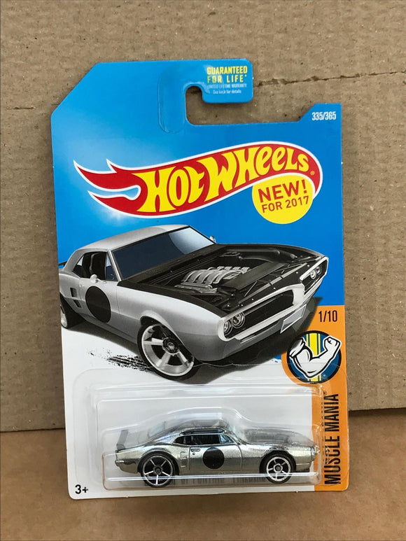 HOT WHEELS DIECAST - Zamac - Custom 67 Pontiac Firebird