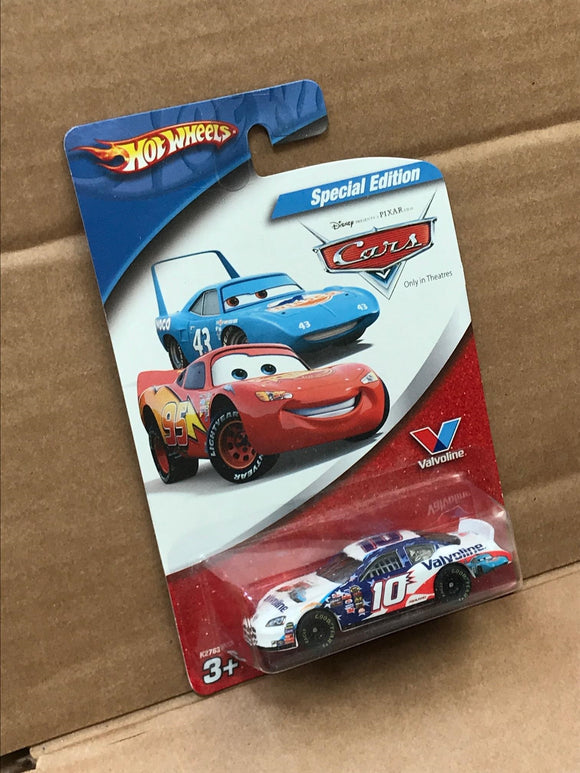 HOT WHEELS DISNEY CARS DIECAST - No 10 Scott Riggs Valvoline