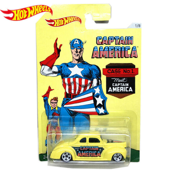 HOT WHEELS DIECAST - Captain America 40 Ford Coupe
